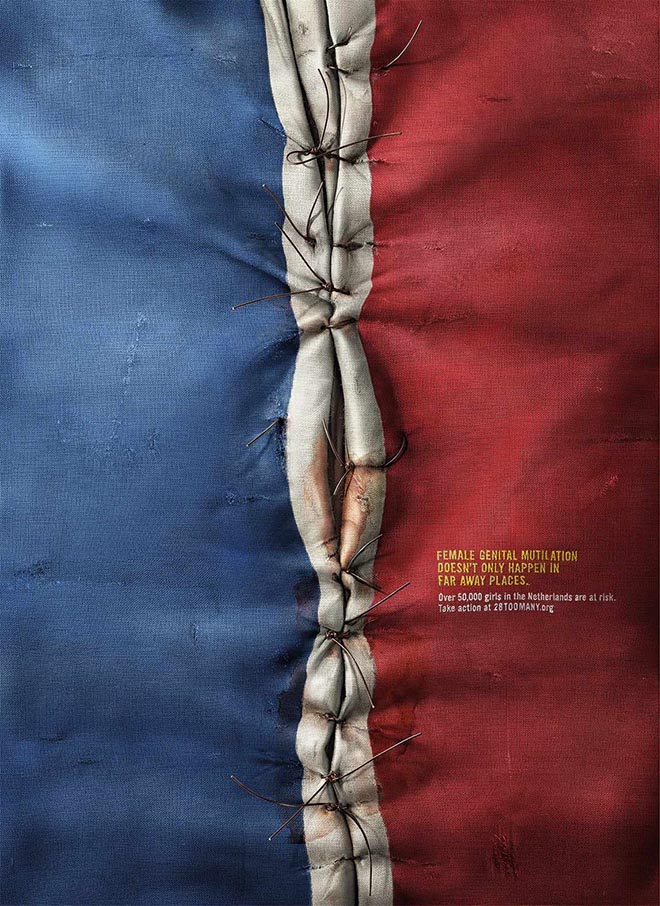 28 Too Many Netherlands Flag print ad