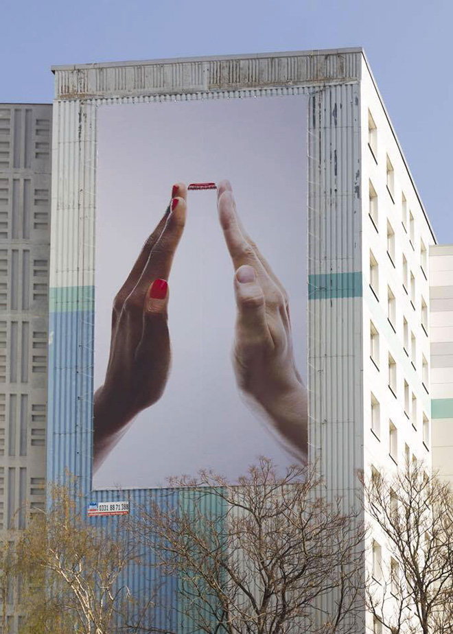 Coca Cola Love Together outdoor ad