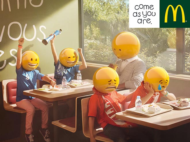 McDonalds Football Team Emoticons