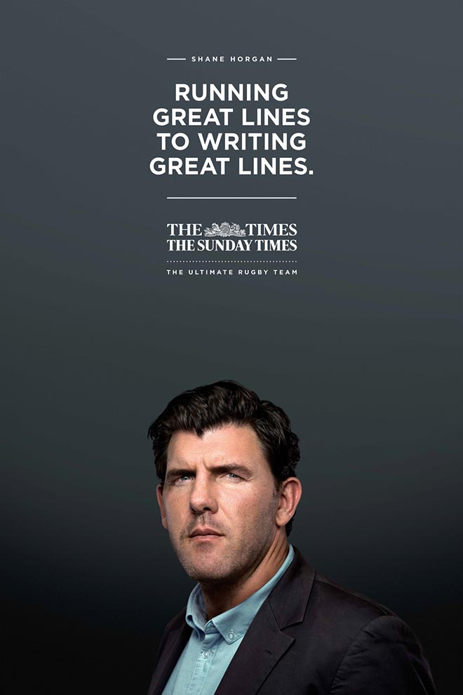 Shane Horgan Great Lines