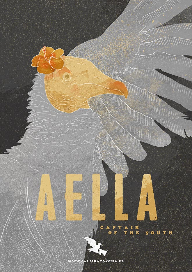 Vultures Warn poster - Aella