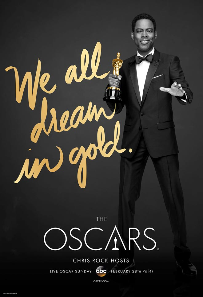 We All Dream in Gold poster with Chris Rock