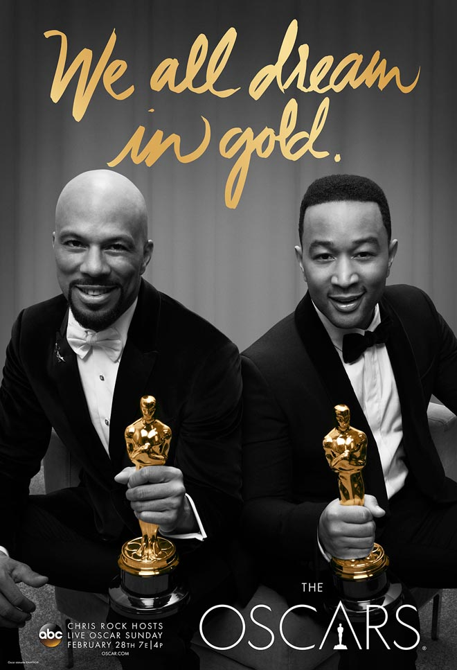 We All Dream in Gold poster with John Legend