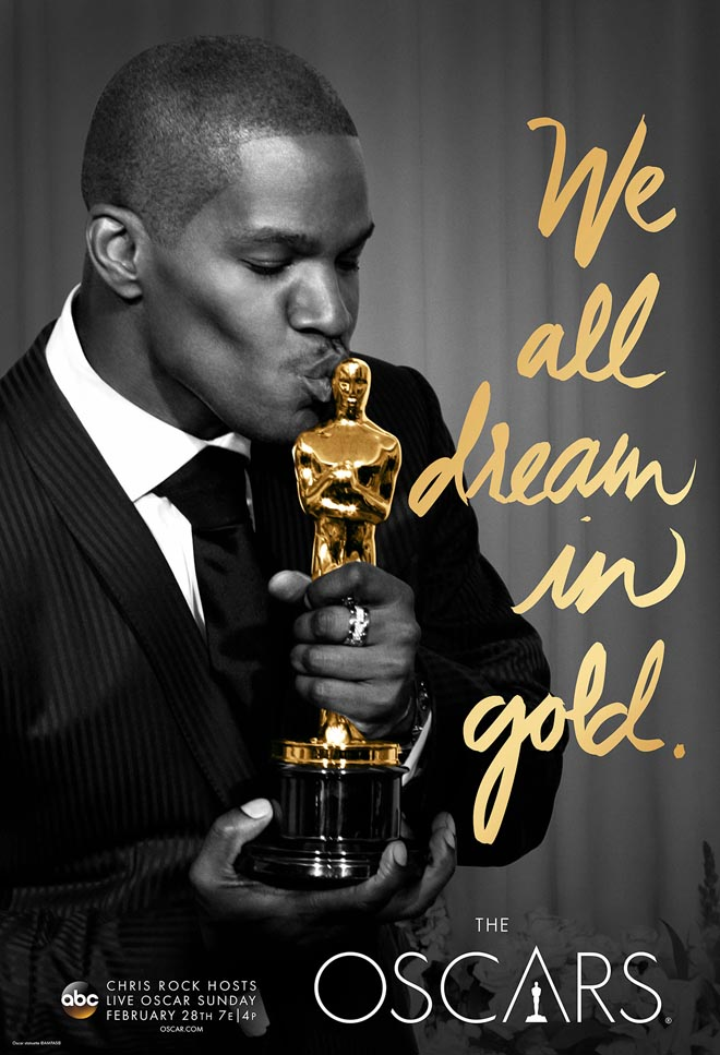 We All Dream in Gold poster with Jamie Foxx