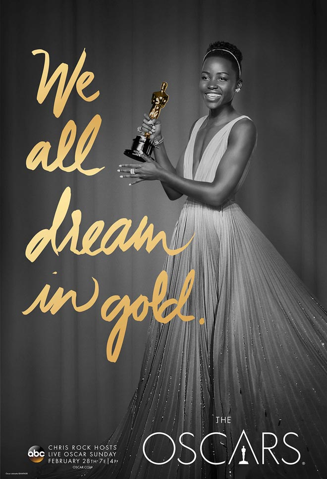 We All Dream in Gold poster with Lupita Ndongo