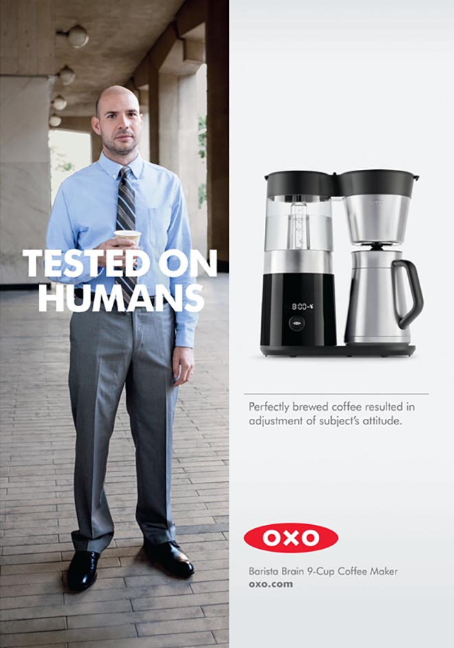 OXO Tested on Humans - coffee grinder