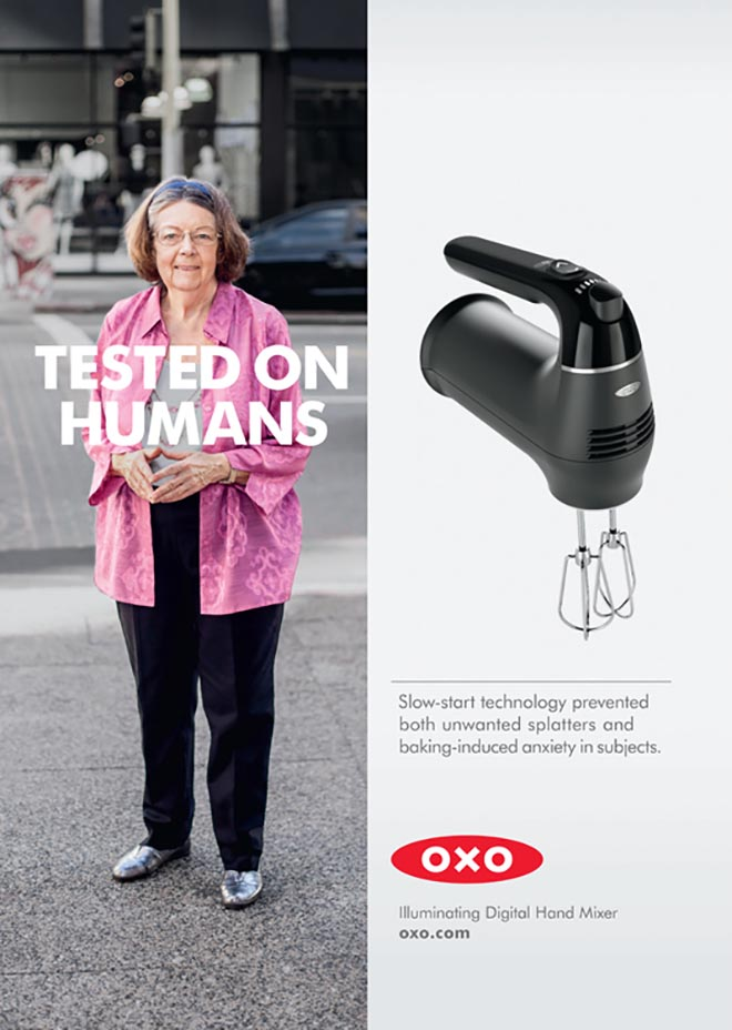 OXO Tested on Humans - mixer