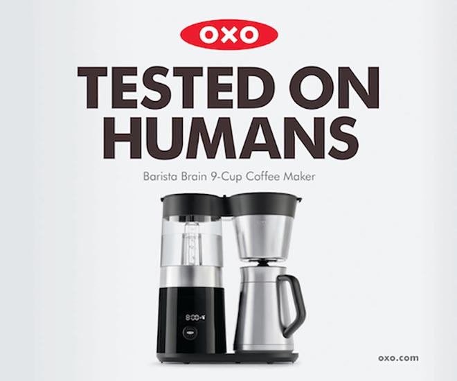 OXO Tested on Humans