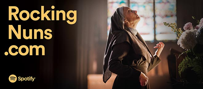 ocking Nuns Spotify Playlist Stories ad