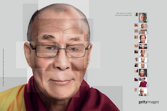 Getty Images Endless Possibilities - Dalai Lama