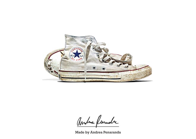 Converse Made by Andrea Penaranda