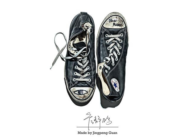 Converse Made by Jingling Guan
