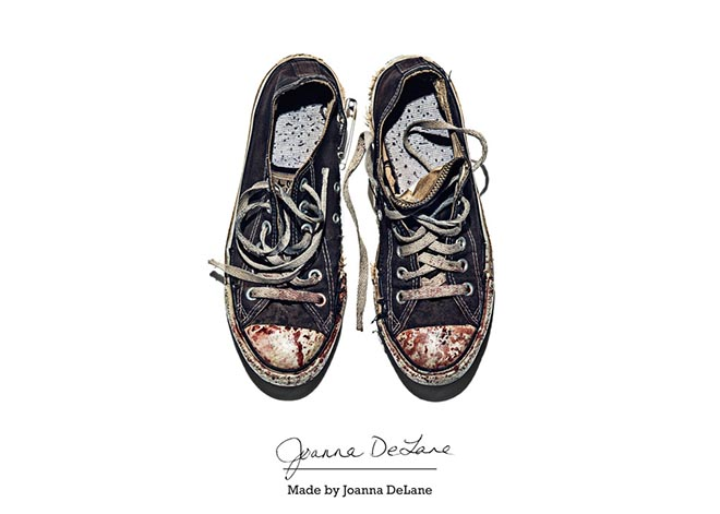 Converse Made by Joanna Delane