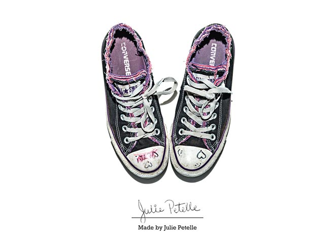 Converse Made by Julie Petiole