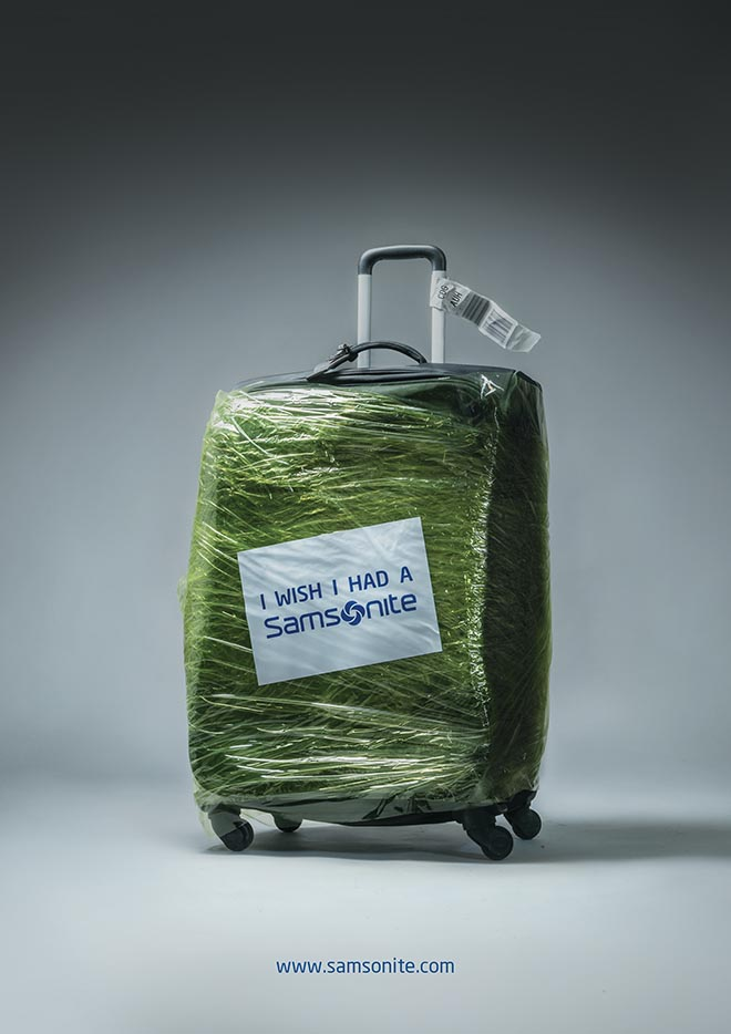 Samsonite Press green
