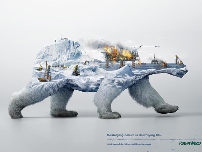 Robin Wood Disappearing Animals -Polar Bear