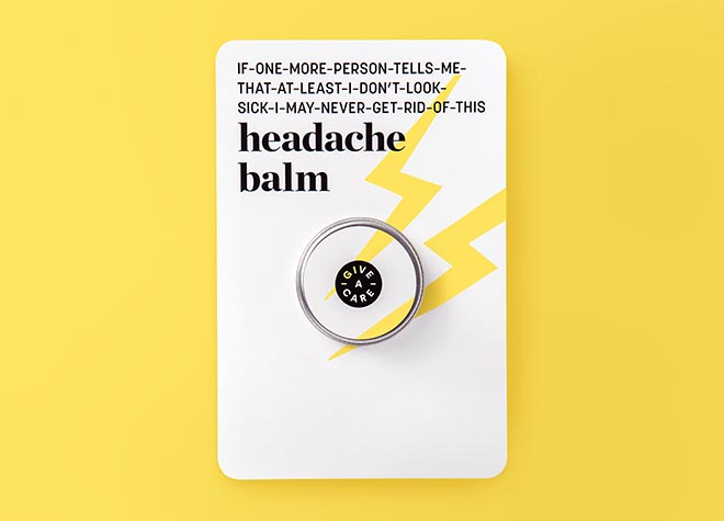 Rethink Breast Cancer Give-A-Care Headache Balm