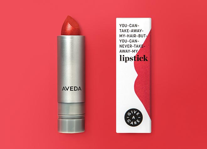 Rethink Breast Cancer Give-A-Care Lipstick
