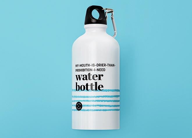 Rethink Breast Cancer Give-A-CareWater Bottle