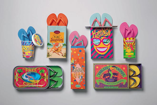 Havaianas Made of Brazilian Summer packages
