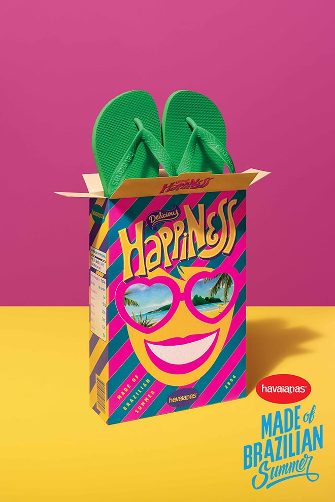 Havaianas Made of Brazilian Summer poster
