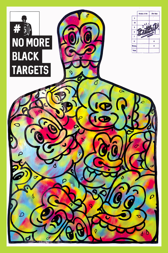 No More Black Targets - Buttsup
