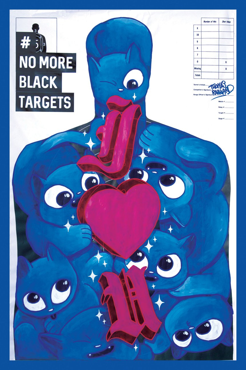 No More Black Targets - Thomas Raillard