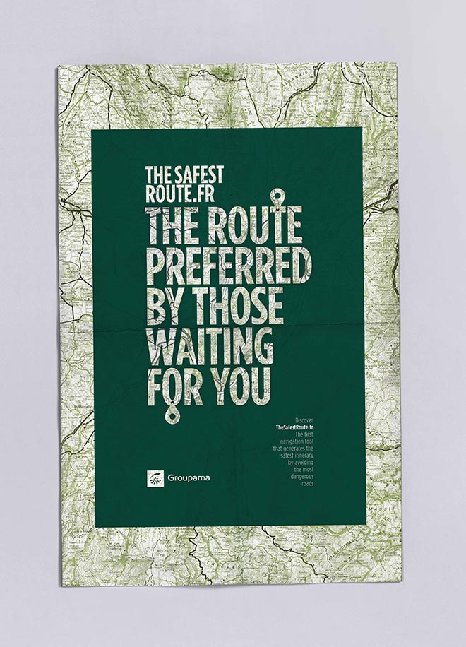 Groupama Safest Route poster - Waiting