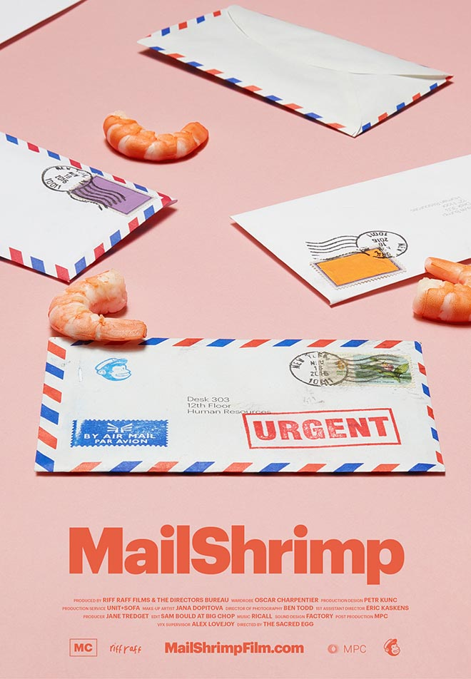Did you mean Mailchimp Mailshrimp poster