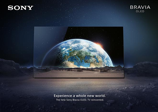 Sony Bravia Earth Experience a whole new world