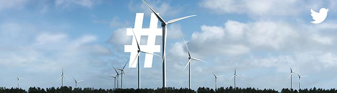 Twitter What's Happening Now - Wind Turbines