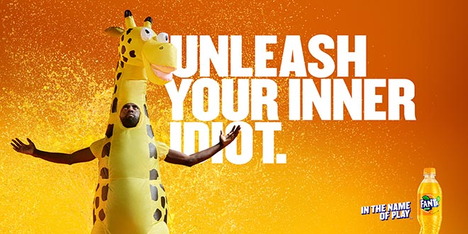 Fanta Unleash Your Inner Idiot - Giraffe