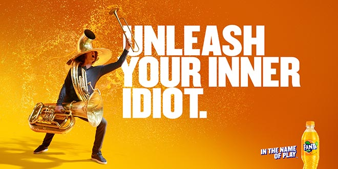 Fanta Unleash Your Inner Idiot - Tuba