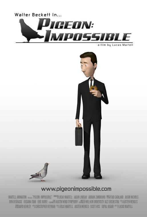 Pigeon Impossible Poster