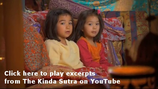 Click this still to view excerpts from The Kinda Sutra short film at YouTube