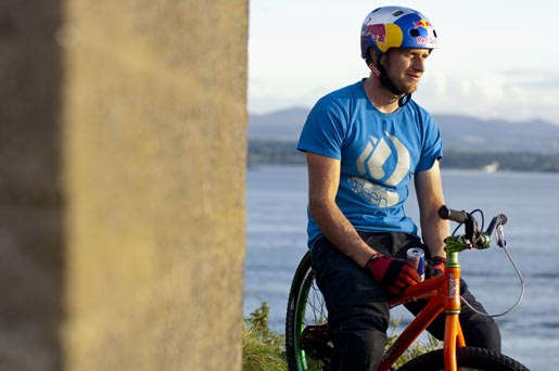 Danny MacAskill with Red Bull