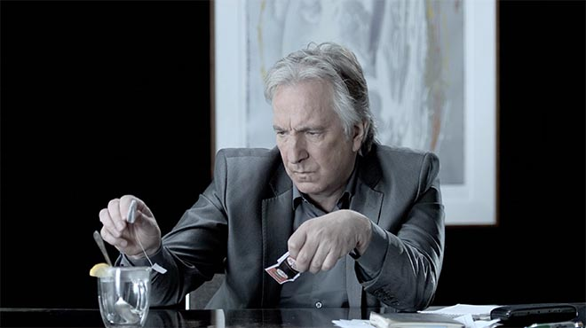 Portrait in Dramatic Time - Alan Rickman