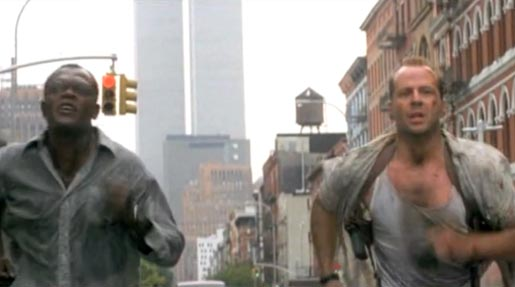 Die Hard with Vengeance Twin Towers Cameo