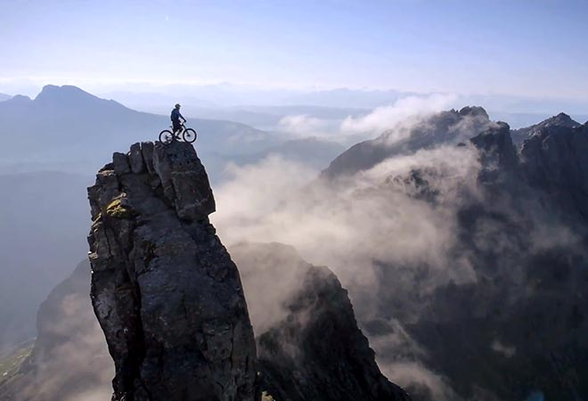 Danny Macaskill on Inaccessible Ridge