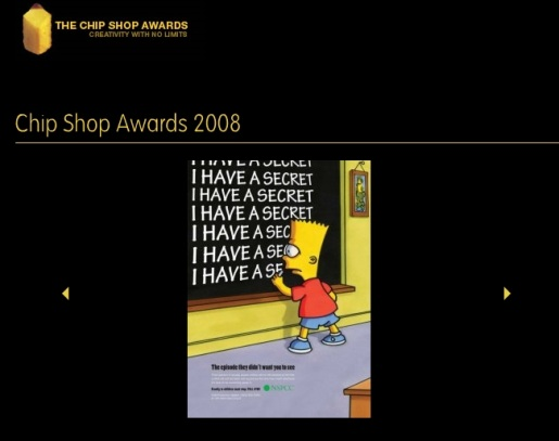 The Chip Shop Awards site