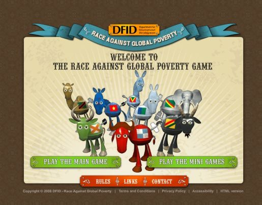 Race Against Global Poverty