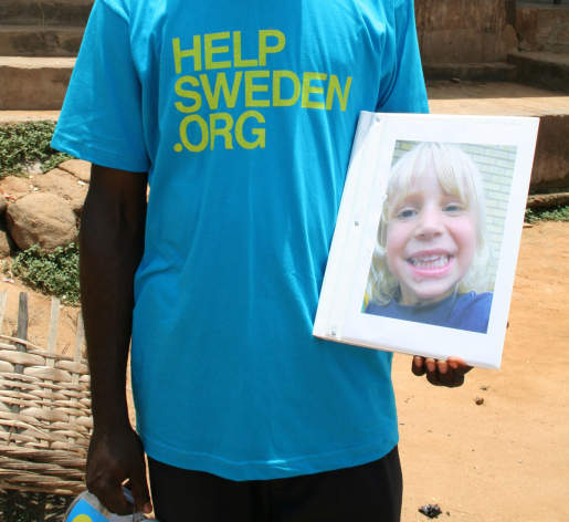 HelpSweden Sponsor Child
