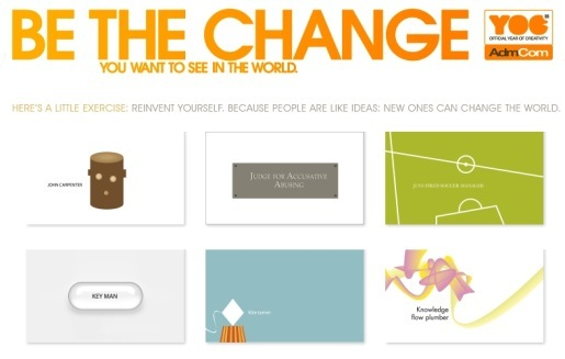 Be The Change Site