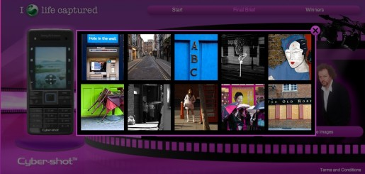 Sony Ericsson Life Captured campaign
