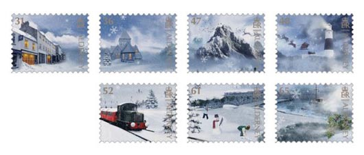 Alderney Christmas Stamps 2011