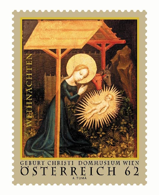 Austria Christmas Stamps 2011
