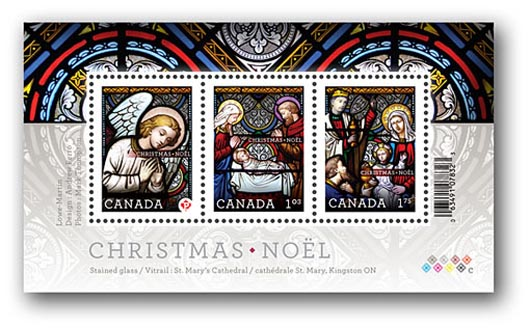Canada Christmas Stamps 2011