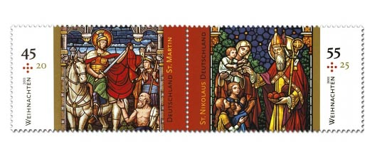 Germany Christmas Stamps 2011