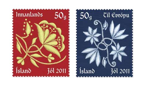 Iceland Christmas Stamps 2011