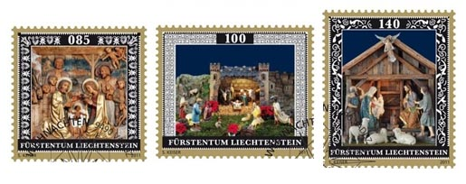 Liechtenstein Christmas Stamps 2011